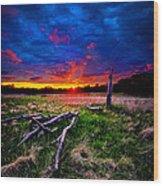 Firewood Wood Print