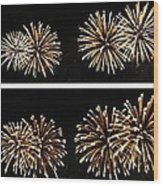 Firework Lifecycle 1 Wood Print
