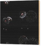 Firework Lifecycle 2 Wood Print