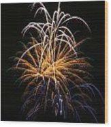 Fireworks 6 Wood Print