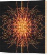 Fireworks Edit 9 Wood Print