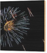 Fireworks Fun 1 Wood Print