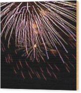 Fireworks Fun 14 Wood Print