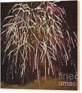 Fireworks II Wood Print