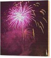 Fireworks IIi Wood Print