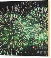 Fireworks Number 4 Wood Print