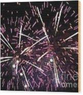 Fireworks Number 5 Wood Print