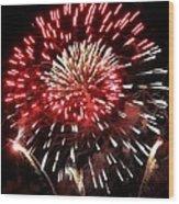 Fireworks Number 6 Wood Print