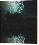 Fireworks On Golden Ponds. Wood Print by James BO  Insogna