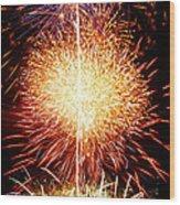 Fireworks_1591 Wood Print