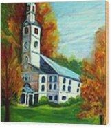 First Baptist Church Of America Wood Print