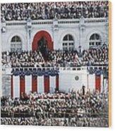First Inauguration Of Bill Clinton Wood Print