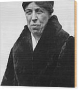 First Lady Eleanor Roosevelt Wood Print by Everett