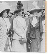 First Lady, Mrs. William Taft, Second Wood Print