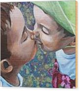 First Love Wood Print