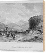 First Opium War, C1841 Wood Print
