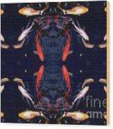 Fish Ballet Wood Print