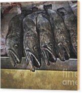 Fish Market Seville Metropol Parasol Wood Print