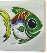 Fish Study 2 Wood Print