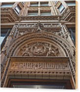 Fisher Building Chicago Wood Print