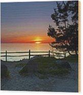 Fisherman's Island State Park Wood Print