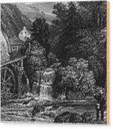 Fishermen, 19th Century Wood Print by Granger