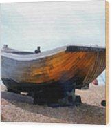 Fishing Boat - Brighton Beach Wood Print