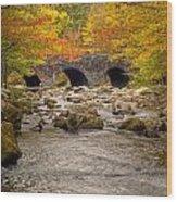 Fishing Bridge I Wood Print by Charles Warren