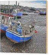 Fishing Fleet - Paddy's Hole Wood Print