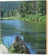 Fishing Spot 4 Wood Print