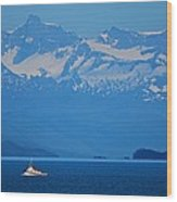 Fishing The Inside Passage Wood Print