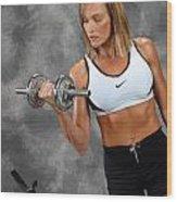 Fitness 5 Wood Print