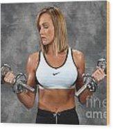 Fitness 8 Wood Print