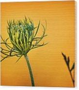 Fixn' To Bloom Wood Print