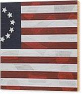 Flag - Constitution Wood Print