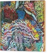 Flamenco Dancer Wood Print by Mindy Newman