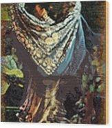 Flamenco Series No 1 Wood Print