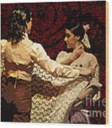 Flamenco Series No 3 Wood Print