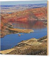 Flaming Gorge Wood Print