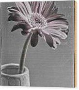 Fleurs Wood Print
