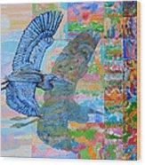 Flight Into Unconsiousness Wood Print