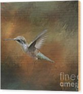 Flight Of The Angel  Wood Print by Cris Hayes