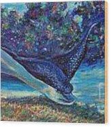 Flight Of The Eagle Wood Print