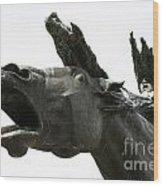 Flight Of The Valkyrie Wood Print