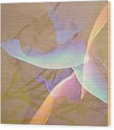 Flight Wood Print by Shirley Sirois