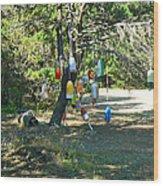 Float Tree Wood Print