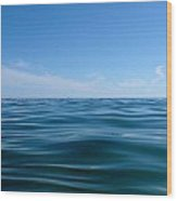 Floating Wood Print