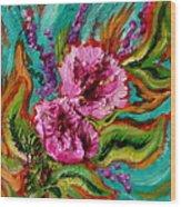 Flora Latino Wood Print