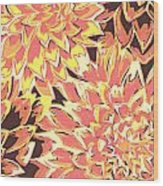 Floral Abstraction 18 Wood Print