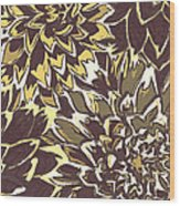 Floral Abstraction 21 Wood Print